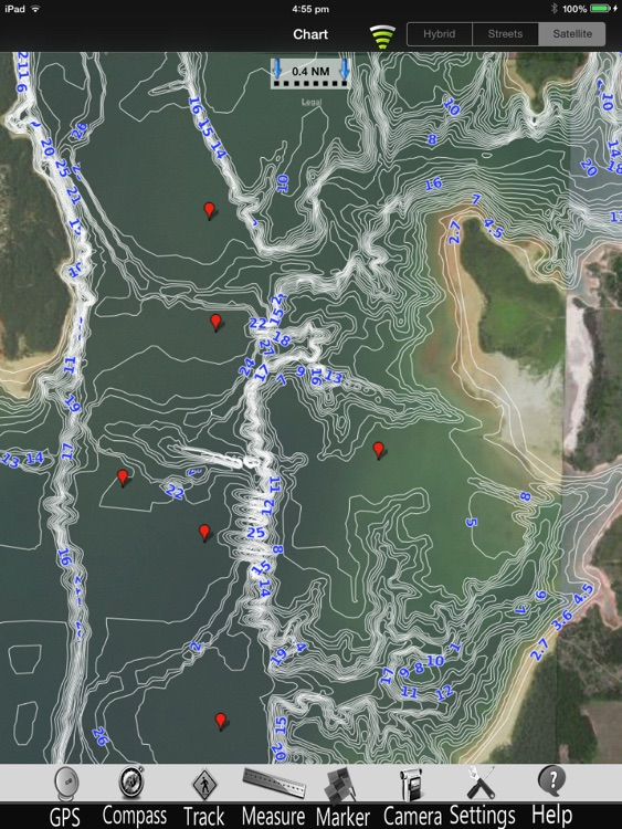 Lake Texoma GPS Charts Pro screenshot-2