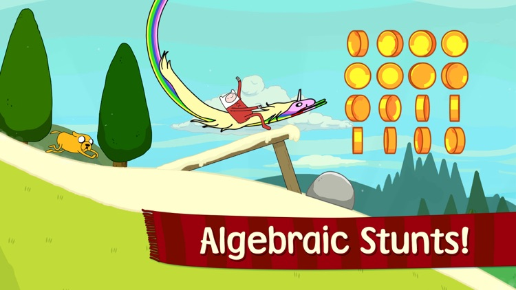 Ski Safari: Adventure Time - Stunt Skiing Endless Runner with Finn and BMO screenshot-4