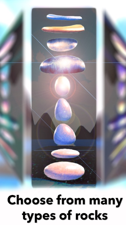 Zen Rock Balancing Simulator - Relax App for meditation, yoga and baby relaxation screenshot-3