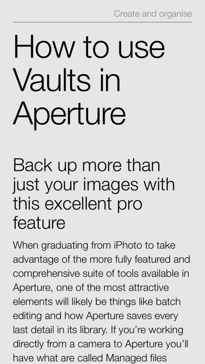 Complete Manual: Aperture Edition screenshot-1