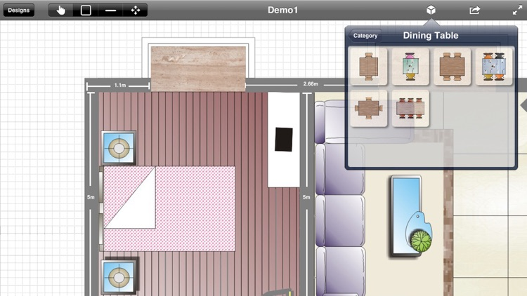 Interior Planner - Home Design & Floor Plans & Illustration Architecture screenshot-2