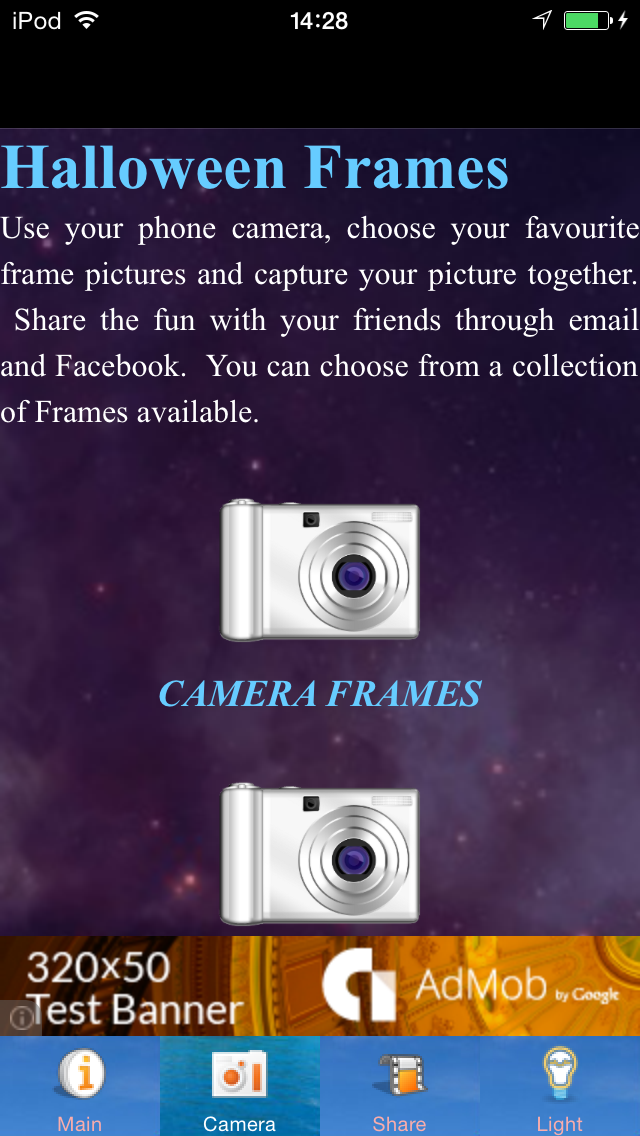 Halloween Frames Camera