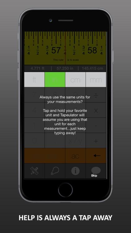 Tapeulator: Tape Measure Calculator screenshot-4