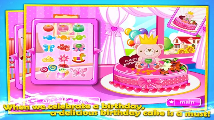 Birthday Cake Decorating