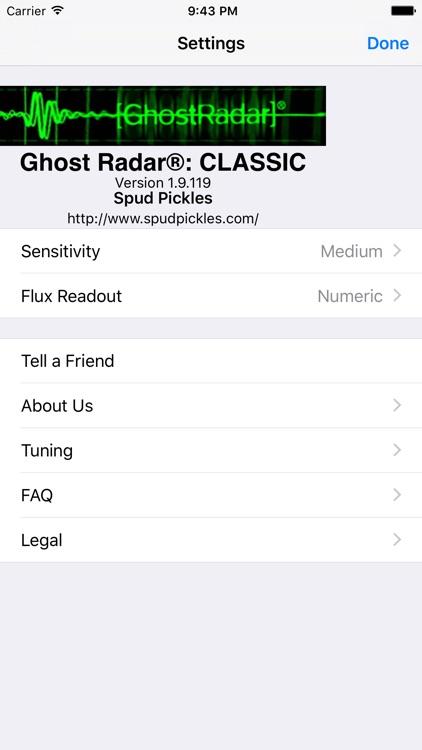 Ghost Radar®: CLASSIC