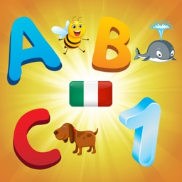 Italian Alphabet for Toddlers and Kids : Learn Italian language , letters and numbers !