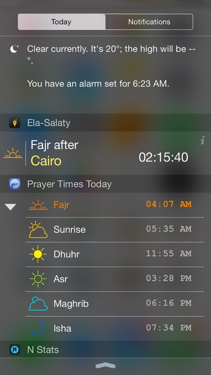Ela-Salaty: Muslim Prayer Times & Qibla Direction screenshot-1