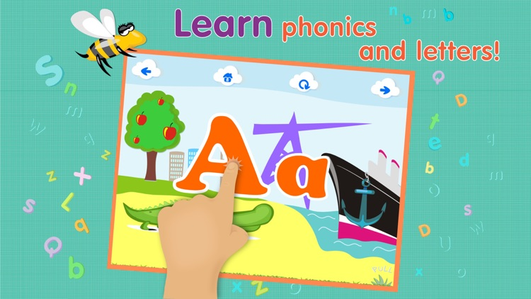 ABCs alphabet phonics based on Montessori approach for toddler Lite screenshot-3