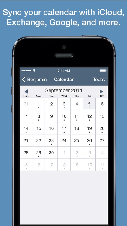 Benjamin – Task Manager and Calendar Inspired by Benjamin Franklin for iPhone screenshot-3