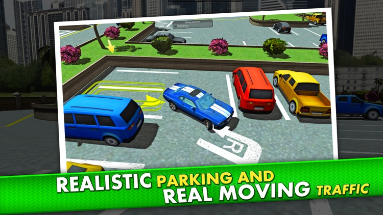 Shopping Mall Parking Driving Simulator - Real Car Racing Test Sim Run Race Games