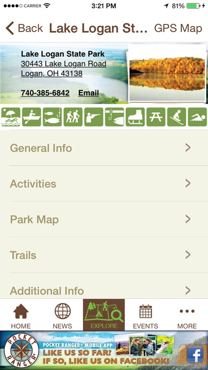 Ohio State Parks Guide - Pocket Ranger® screenshot-4