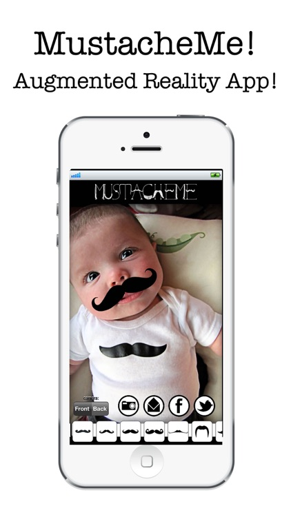 MustacheMe! Cool Moustaches over your face