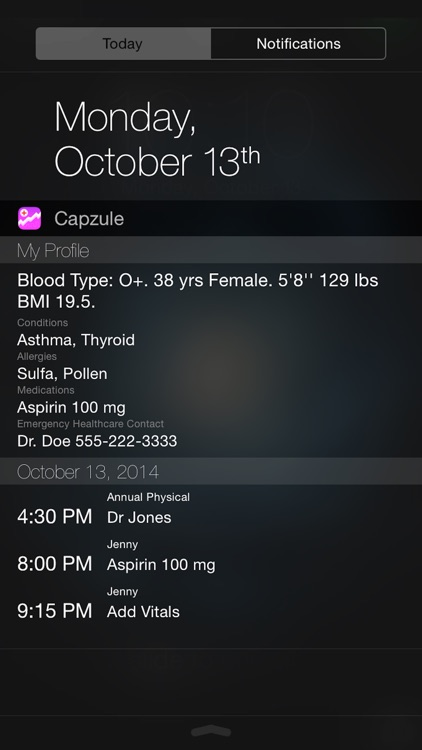 Capzule PHR - Your Personal Health Record. screenshot-4