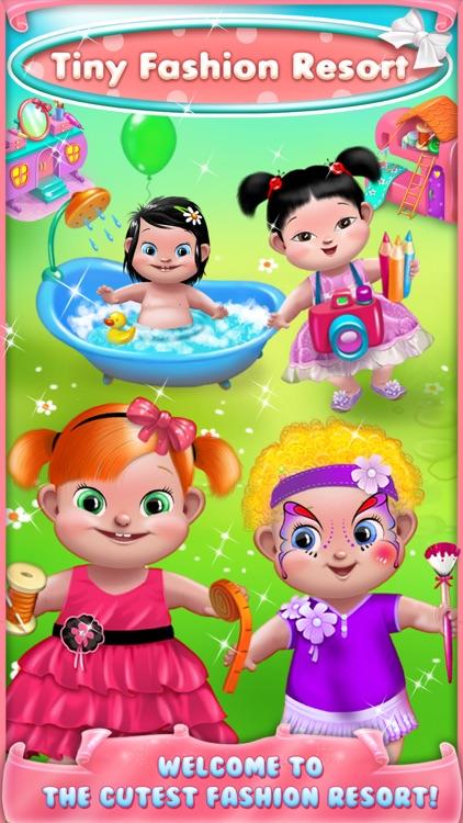 Tiny Fashion Resort - Cute Dress Up, Face Paint Makeup, Little Designer, Toddler Spa & More