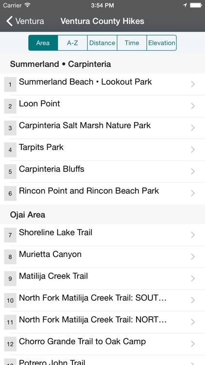 Day Hikes Around Ventura County screenshot-4