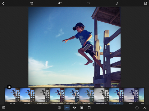 ECP Photo - Editor, Filters and Effects screenshot