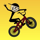 Stickman BMX - mejor libre bike race game icon