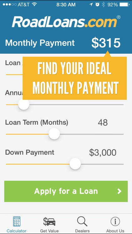 RoadLoans - Tools for Cars: Finding, Buying, & Owning - with Loan Calculator, VIN Scanner, & More screenshot-0