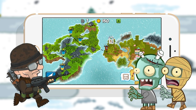 Arctic Defences - Defend Your Island And Beach From The Zombie Dictator screenshot-3
