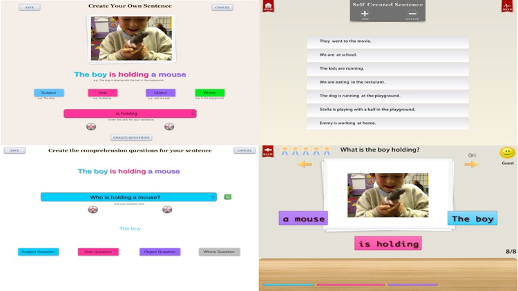 Comprehension Builder Free screenshot-3