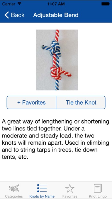 Knot Guide (100+ knots) screenshot two