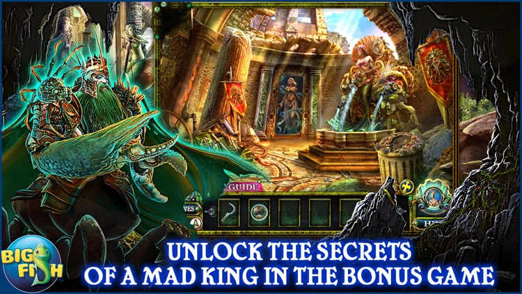 Dark Parables: The Little Mermaid and the Purple Tide - A Magical Hidden Objects Game (Full) screenshot-3