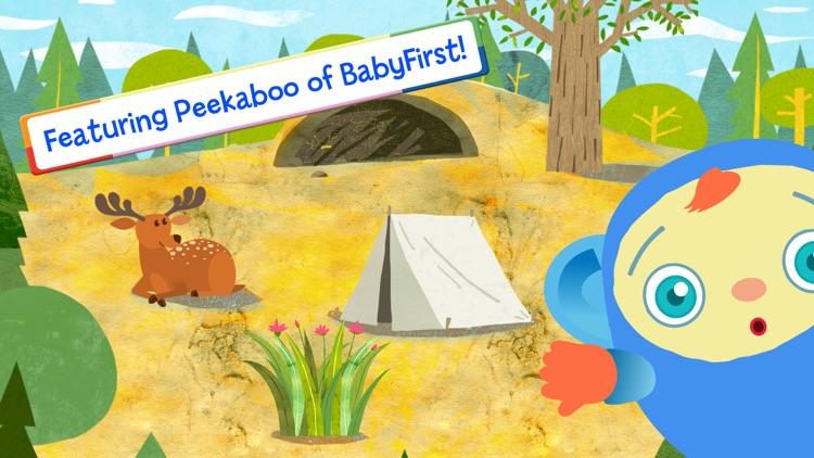 Peekaboo Goes Camping Game by BabyFirst screenshot-4
