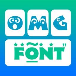 OMG Font Keyboard