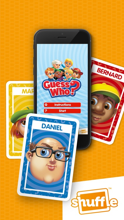 GUESSWHO?Cards by Shuffle