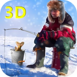 Ice winter fishing 3d by games banner network for Ice fishing apps