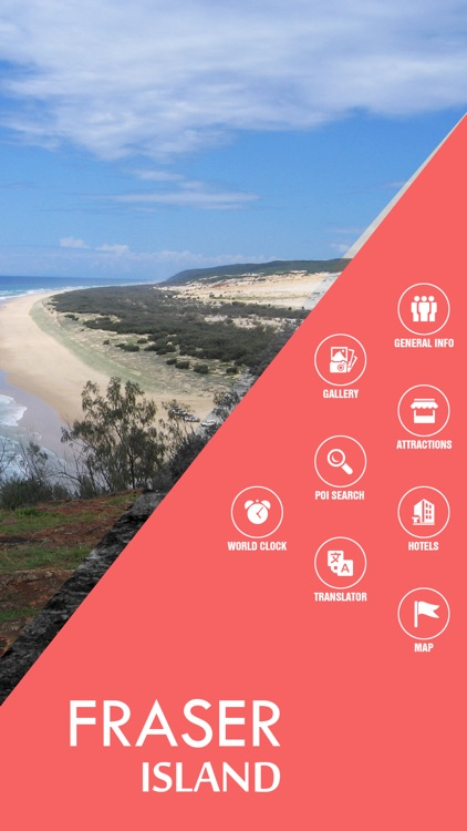 Fraser Island Offline Travel Guide