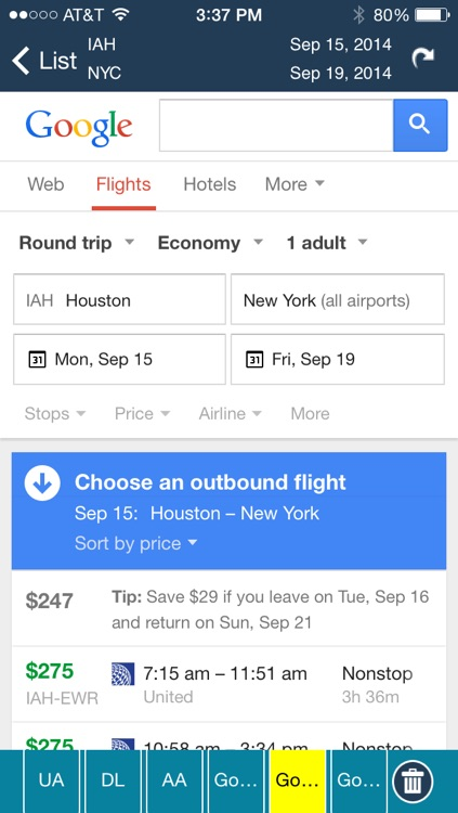 Houston Intercontinental Airport Flight Tracker HOU screenshot-4