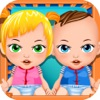 Mommy's Twins New Babies Doctor - my baby newborn mother spa salon game for kids