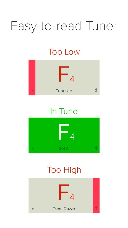 insTuner Free - Chromatic Tuner screenshot-1