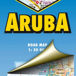 Aruba Road map by AGT Geocentre