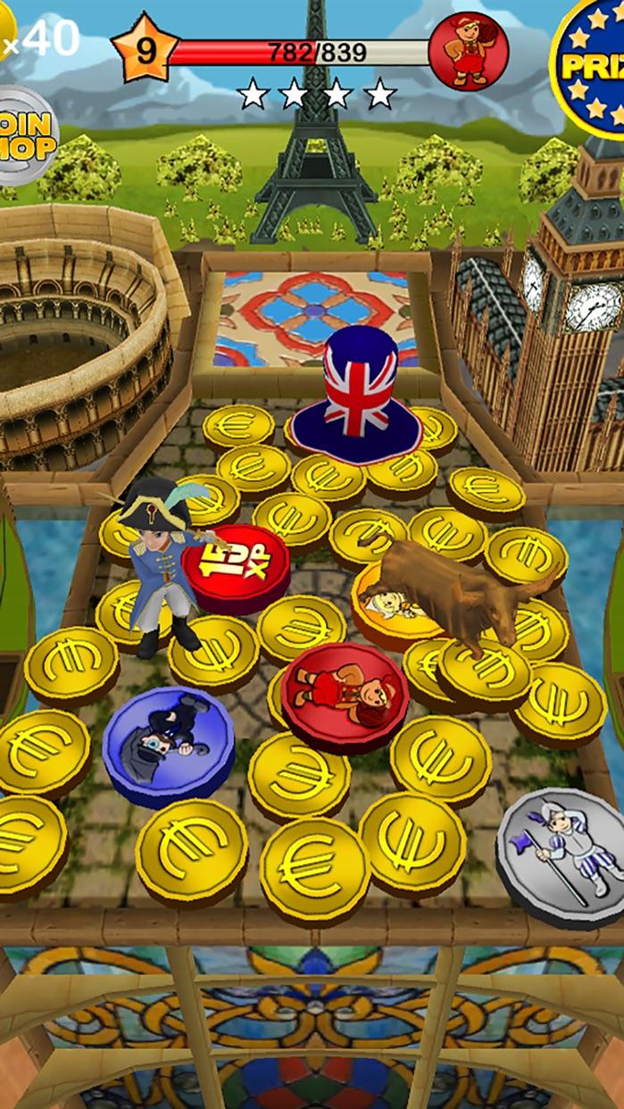 Coin Dozer - World Tour Screenshot
