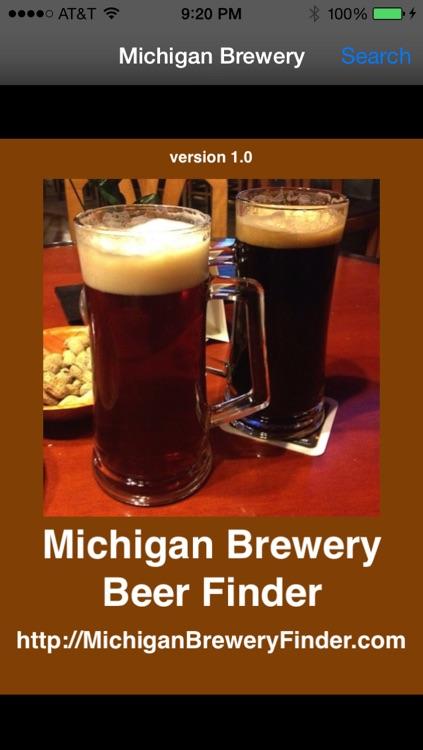 Michigan Brewery Beer Finder