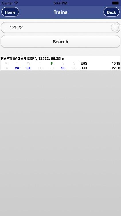 Rail PNR Inquiry - IRCTC Info screenshot-4