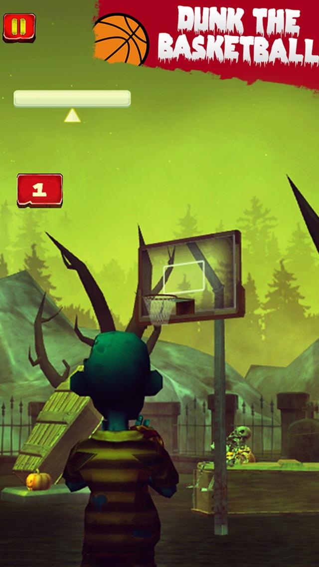 Basketball Games Zombie Street Jam - Real Hoops Games for Kids Free Screenshot