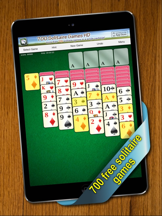 700 Solitaire Games HD Free for iPad screenshot-0