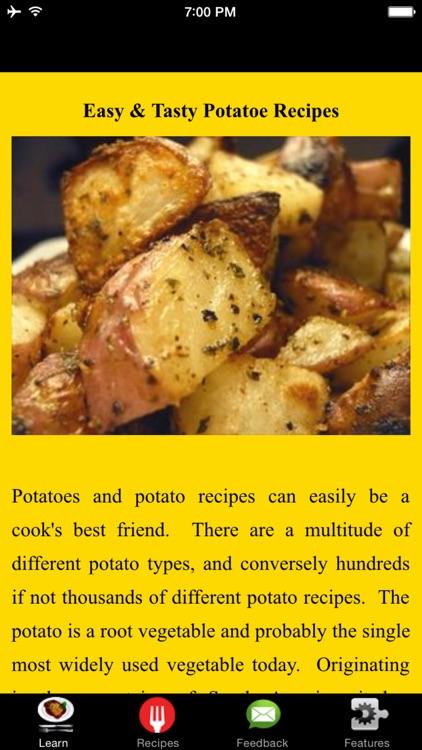 Easy & Tasty Potatoe Recipes