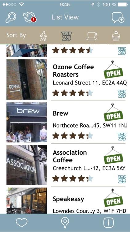 London: Coffee Guide
