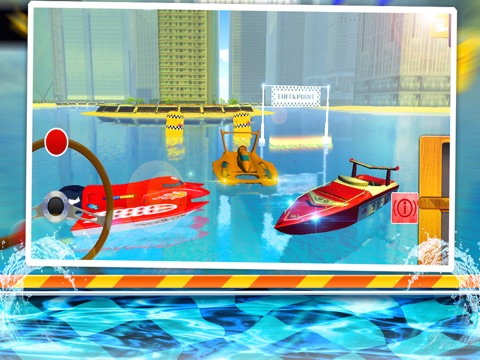 Speed Boat Sea Parking Racer-ipad-2