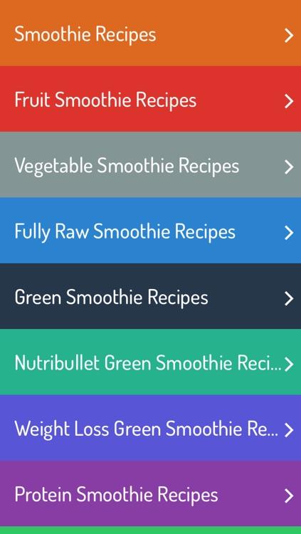 Smoothie Recipes - Ultimate Recipe Guide