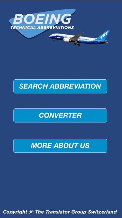 Boeing Technical Abbreviations screenshot-3