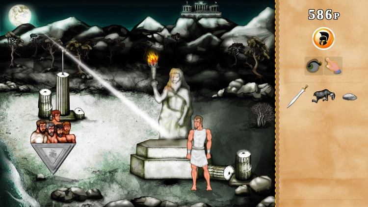 The Odyssey Lite (Adventure) - cyclops vs odysseus