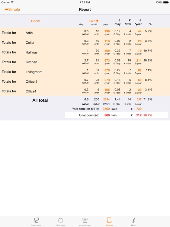 Watt Cost screenshot-4