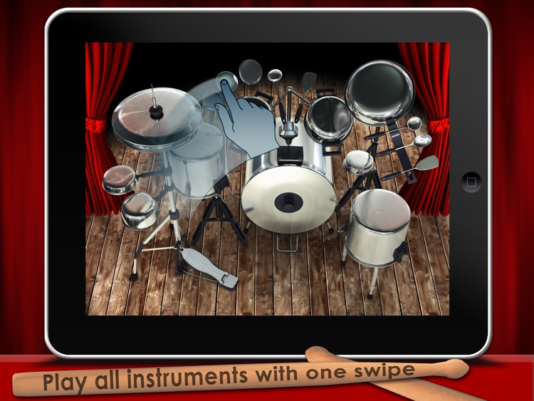Pot & Pan Drumming App for Kids. Pantastic HD.