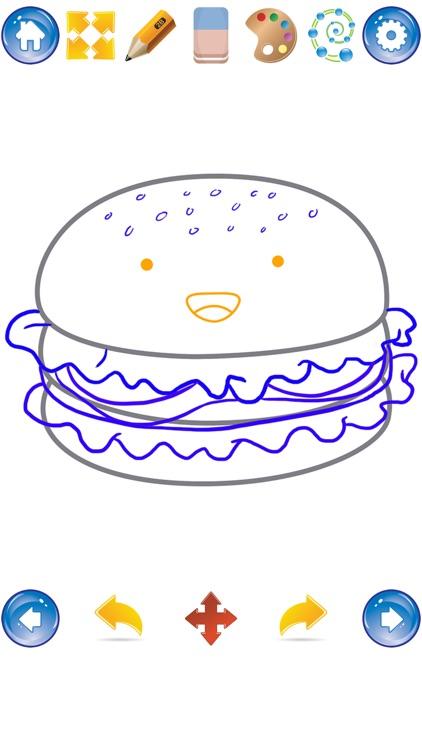 How to Draw Cute Food screenshot-3