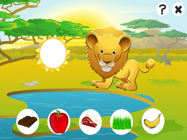 Awesome Feed-ing Happy Wild Animal-s Kid-s Game-s